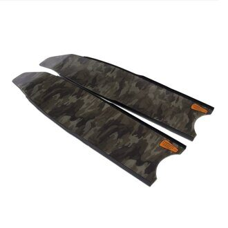 Лопасти Leaderfins Brown Camo Soft 20x80 см для ласт O.ME.R Millenium пара